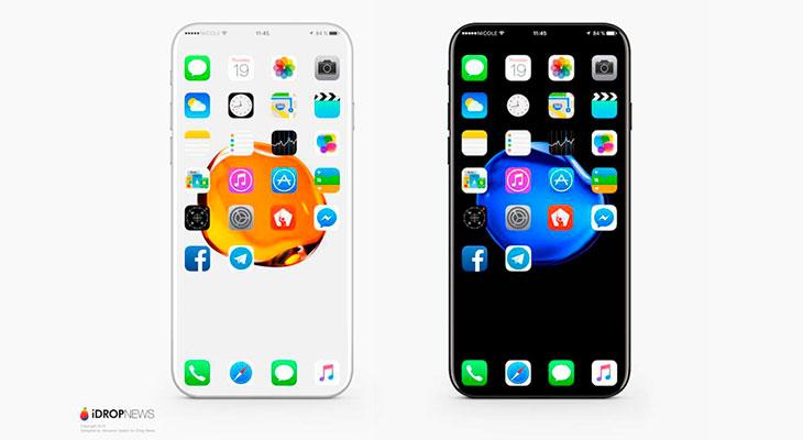 Así podría conseguir Apple que el iPhone 8 fuera todo pantalla… e incluso transparente