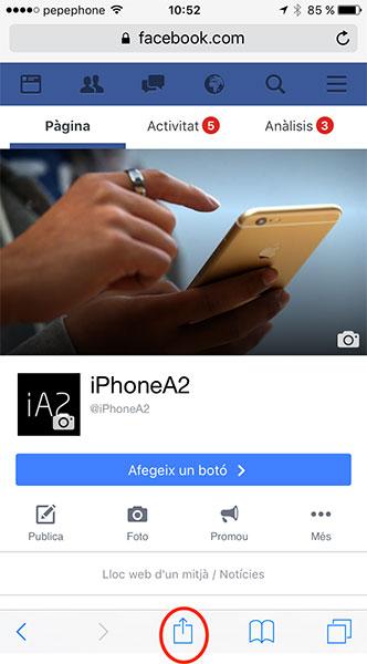 Facebook en catalán