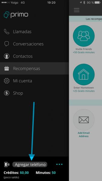 Cómo usar WhatsApp sin tarjeta SIM - Tutorial - Paso 4