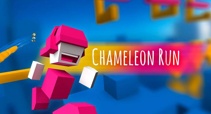 La Aplicación Gratis de la Semana es Chameleon Run