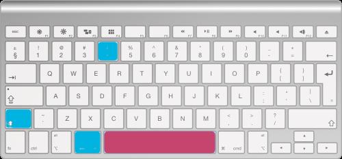 Capturar ventana en la pantalla de un Mac - Paso 2