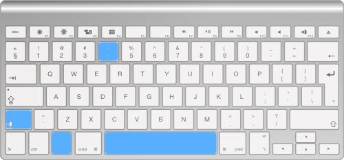 Modificar área seleccionada en captura de pantalla en Mac