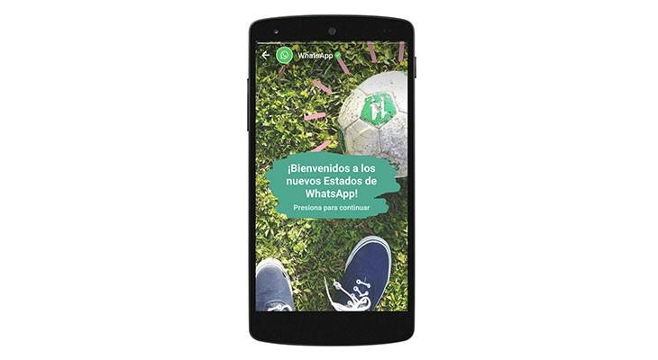 WhatsApp remodela por completo la sección de estados