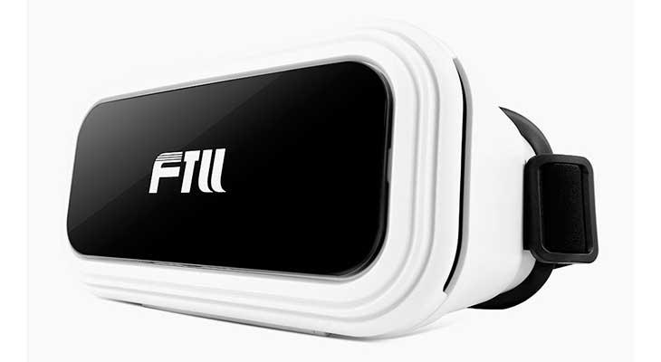 Gafas de realidad virtual para iPhone con buena relación calidad-precio - FTLL 3D VR