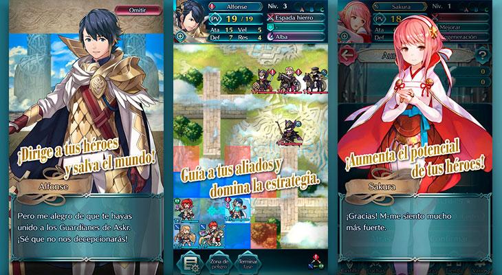 Fire Emblem Heroes ya está disponible en la App Store