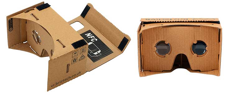 Gafas VR de cartón para iPhone - Google Cardboard