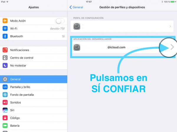 Instalar WhatsApp en el iPad sin Jailbreak - Tutorial - Paso 13