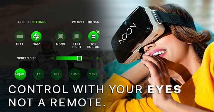 Gafas de realidad virtual para iPhone de calidad premium - NOON VR