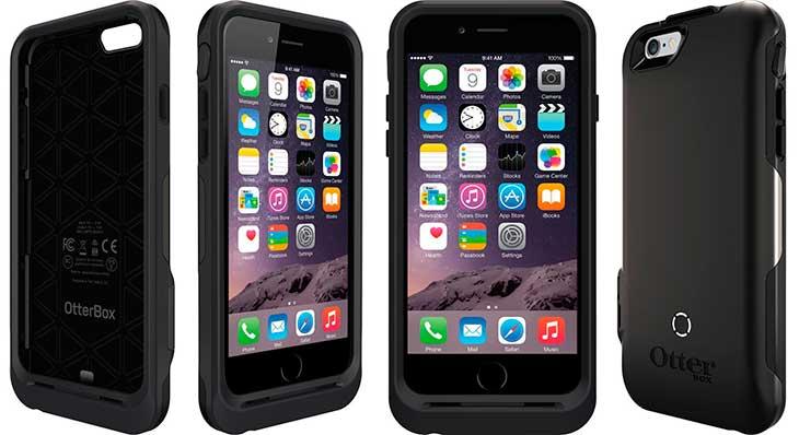 Funda-batería ultrarresistente para iPhone 6s, 6, SE, 5s y 5 - OtterBox Resurgence