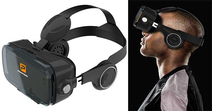 Gafas de realidad virtual con auriculares incluidos para iPhone - Pasonomi VR 2017