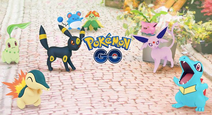 La próxima actualización de Pokémon GO añadirá más de 80 nuevos Pokémon