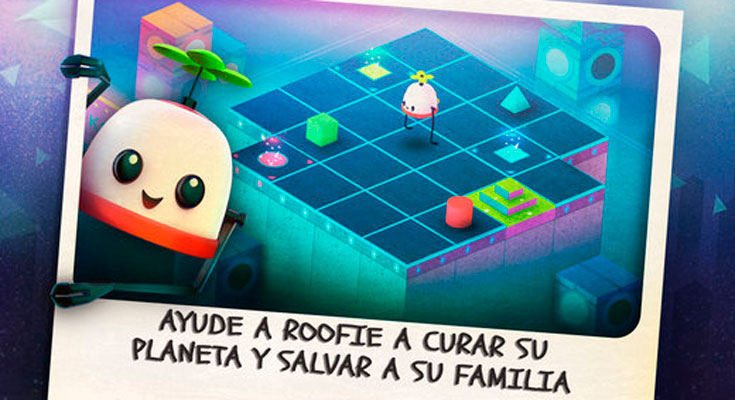 La Aplicación Gratis de la Semana es Roofbot: Puzzler On The Roof