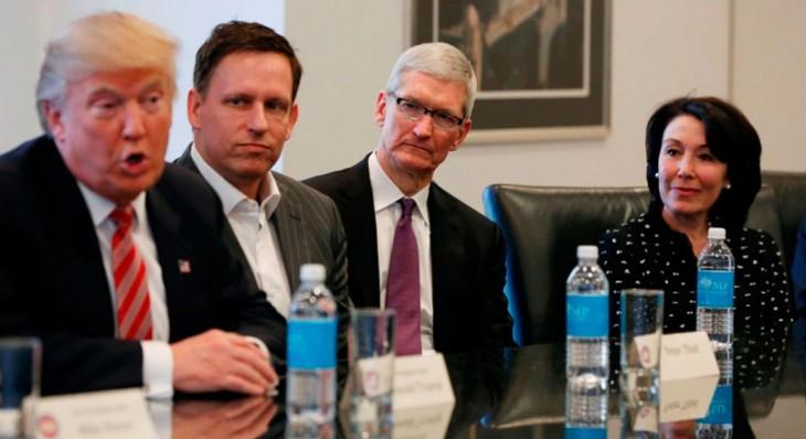 Apple se une a otras 96 empresas tecnológicas para oponerse formalmente a la política migratoria de Donald Trump