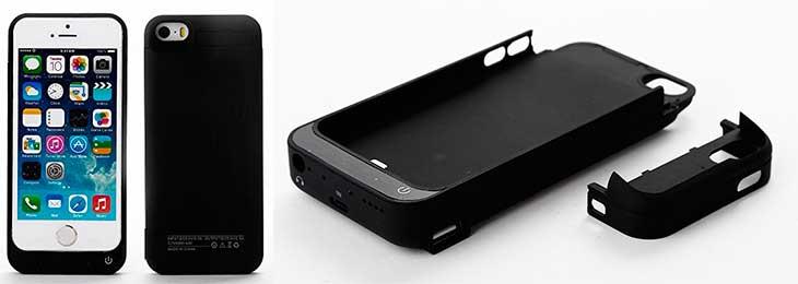 Funda-batería de gran capacidad para iPhone SE, 5s y 5 - Zogin