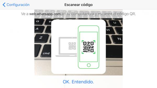 WhatsApp web en el iPad - Tutorial - Paso 10