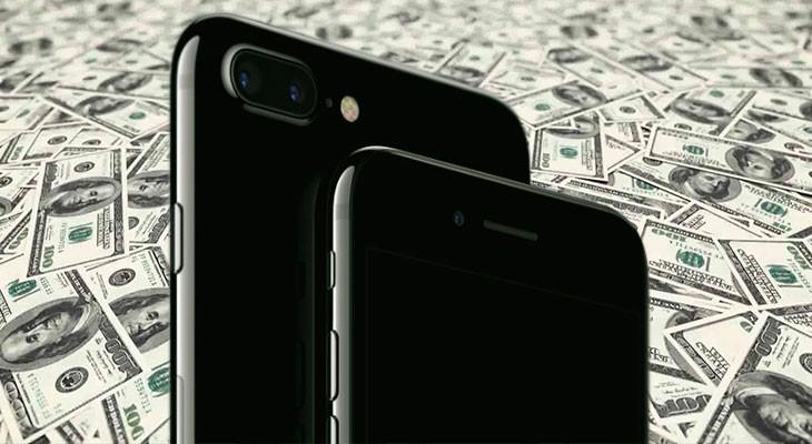 Apple vendió 78,3 millones de iPhones el pasado trimestre.