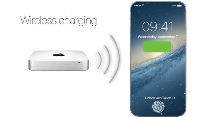 Apple tiene al menos cinco equipos trabajando en la carga inalámbrica del iPhone 8