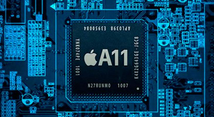 La producción del chip A11 para el iPhone 8 empezará en abril