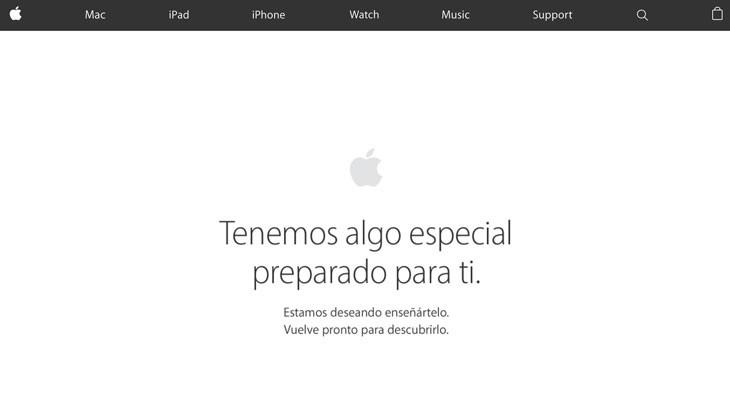 """La Apple Store cerrada por """"mantenimiento"""", ¿habrá novedades?"""