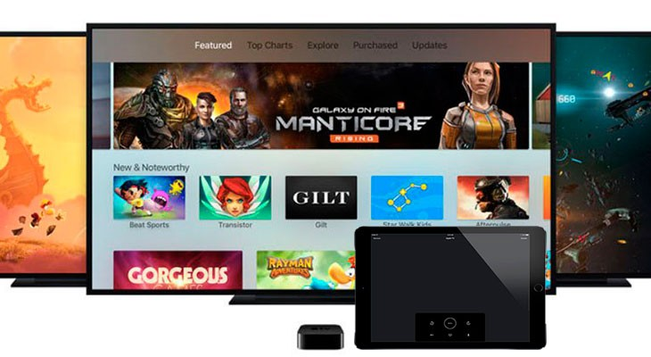 La app Apple TV Remote se actualiza con soporte para iPad