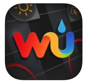 Weather Underground: App del tiempo para iPhone - Logo