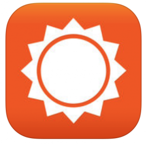 Accuweather: App del tiempo para iPhone - Logo