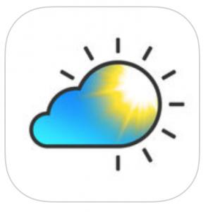 Tiempo en vivo: Aplicación del tiempo para iPhone - Logo