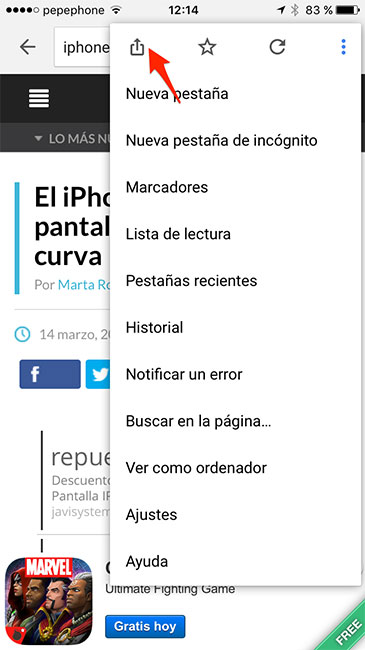 Chrome_Lista_Lectura_Compartir