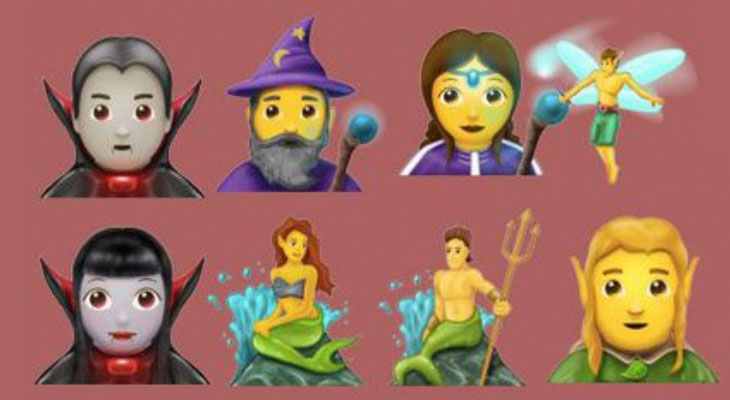 Estos son los 69 nuevos emojis que incluirá Unicode 10
