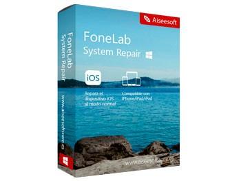 FoneLab System Repair, repara errores de iOS sin pérdida de información