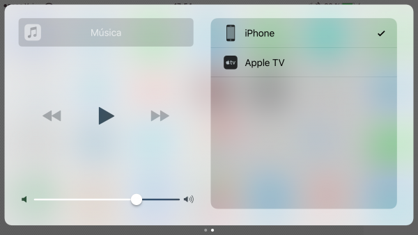 Música y Video en AirPlay desde iOS