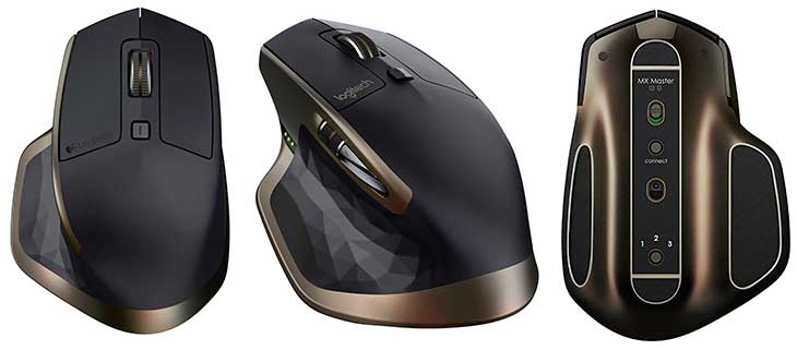 Ratón inalámbrico premium para Mac y PC - Logitech MX Master