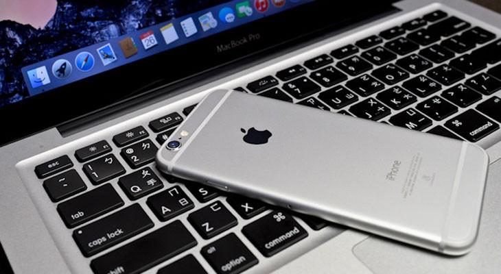 Apple patenta un MacBook que utiliza un iPhone como trackpad