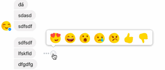 Messenger_Reacciones