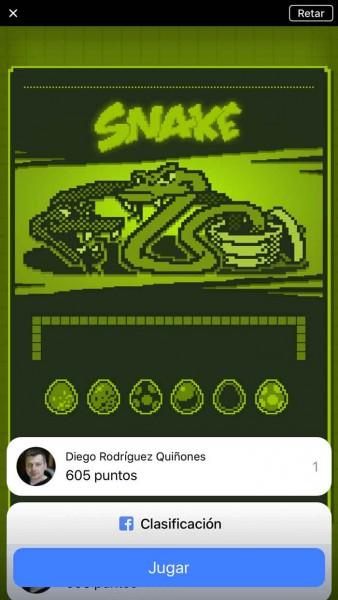 Snake en iPhone