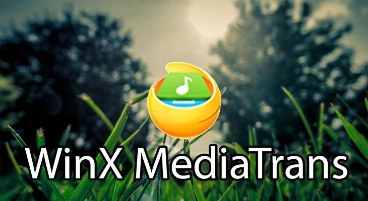 Cómo quitar el DRM de iTunes con WinX MediaTrans, el gestor del iPhone todo en uno Gratis