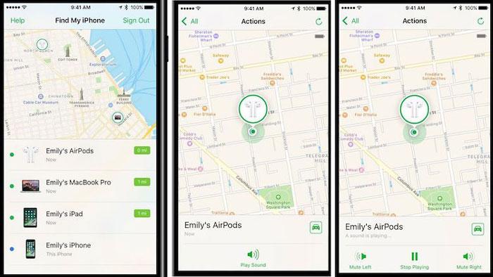 iOS 10.3 - Encuentra mis AirPods