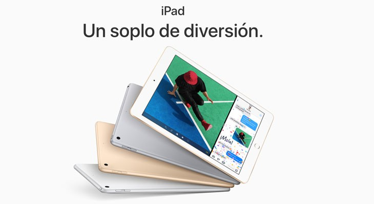 Apple reemplaza el iPad Air 2 por un nuevo iPad de 9,7 pulgadas con chip A9