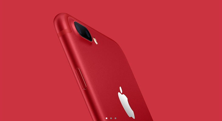 Apple lanza un iPhone 7 rojo y mejora el iPhone SE