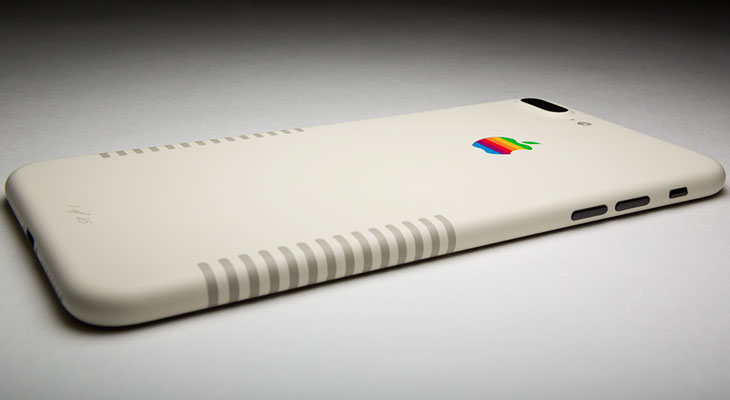 """iPhone 7 Plus """"Retro Edition"""": un iPhone que parece un Mac clásico"""