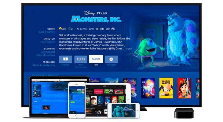 iTunes por fin permite alquilar una película y verla en el dispositivo que queramos
