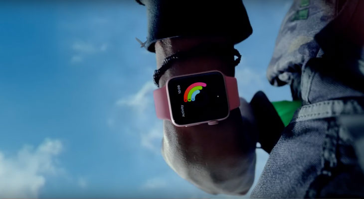 El nuevo anuncio del Apple Watch 2 nos anima a llevar una vida más activa y saludable