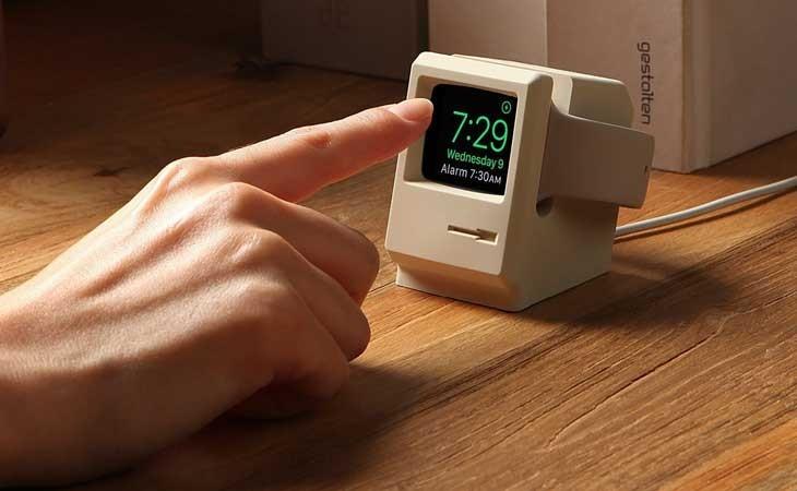 Base de carga Mac Vintage para Apple Watch
