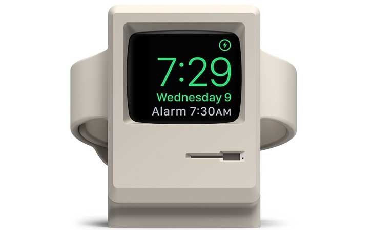 Base de carga Mac Vintage para Apple Watch