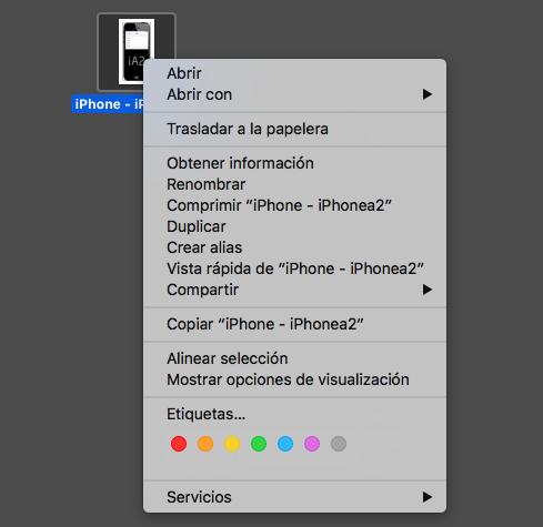 Usar AirDrop en Mac - método 2 - paso 2
