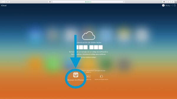 Restaurar iPhone o iPad con iCloud - Paso 2