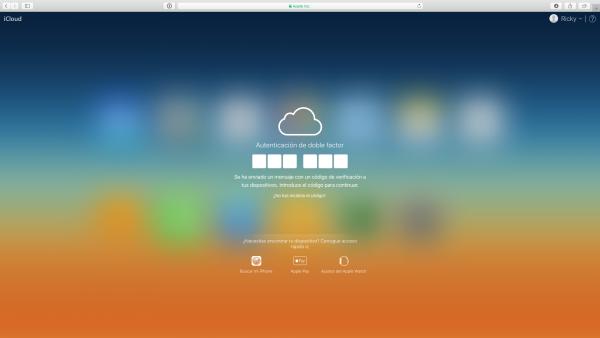 Restaurar iPhone o iPad con iCloud - Paso 1