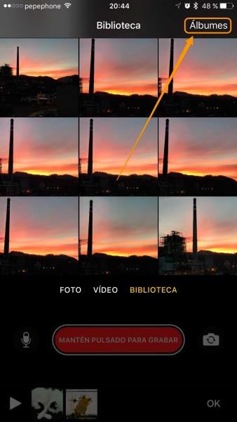Como añadir una foto a Clips