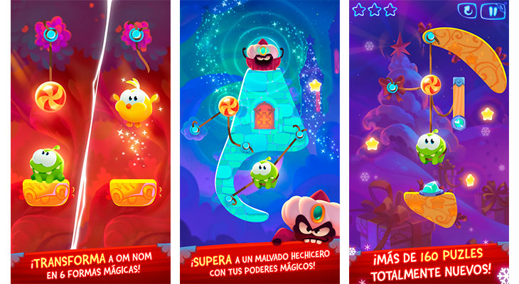 La Aplicación Gratis de la Semana es Cut the Rope: Magic