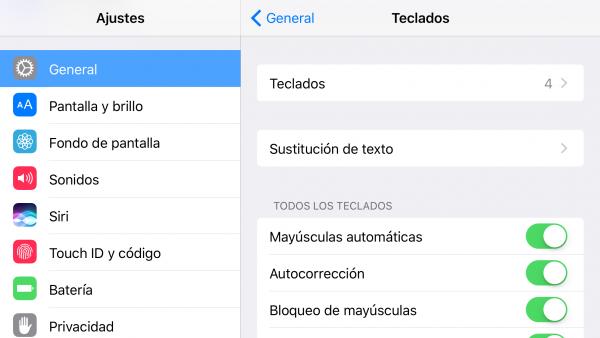 Corrector ortográfico en catalán para iOS - paso 1